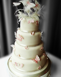 butterfly wedding cakes tadcaster