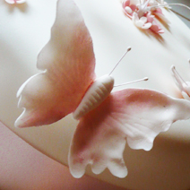 butterfly wedding cake york