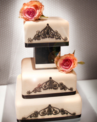 wedding cakes harrogate roses
