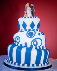 wedding cakes york topsy turvy