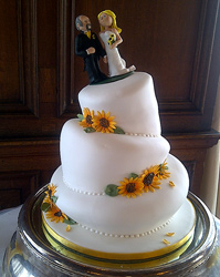 wedding cakes topsy turvy daisy york